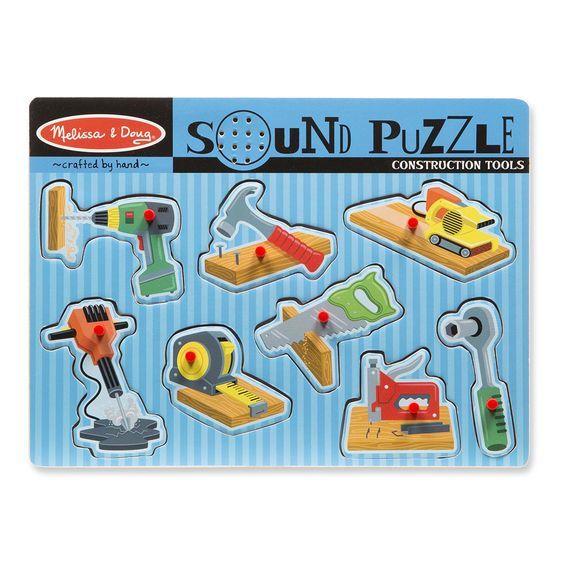 Billede af Sound Puzzle fra Melissa & Doug - Værktøj