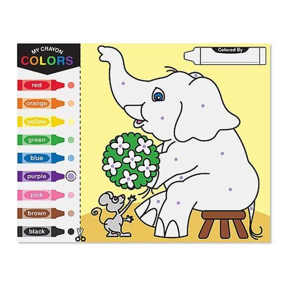 Image of Malebog fra Melissa & Doug - Color By Dots (14006)