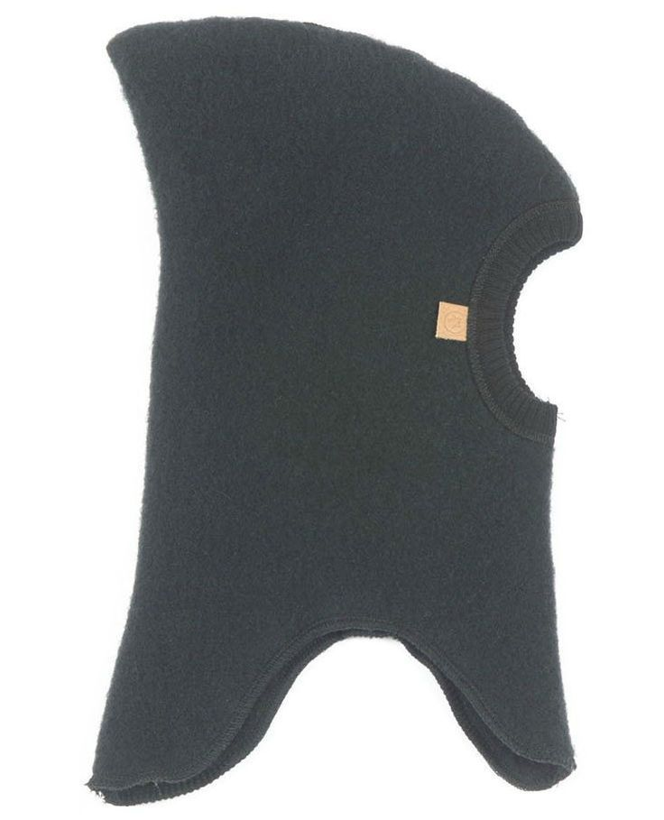 Image of   Elefanthue fra Smallstuff - Soft wool - Black
