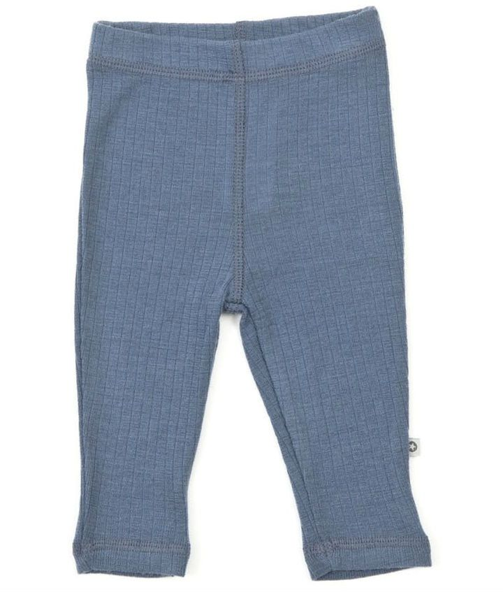 Image of   Leggins fra Smallstuff i merino uld - Denim