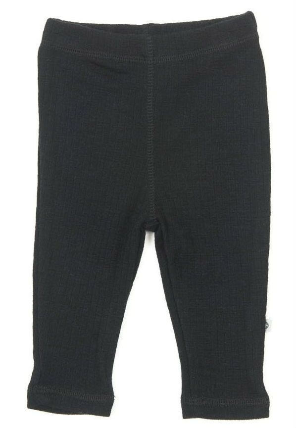 Image of   Leggins fra Smallstuff i merino uld - Black
