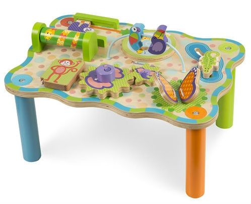 Image of Aktivitetsbord fra Melissa & Doug - Jungle Activity Table (40122)