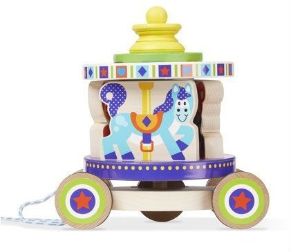 Image of Carousel Pull Toy fra melissa and Doug (13616)