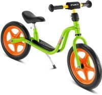 Løbecykel fra PUKY - LR 1 m/punktérfri hjul - Kiwi/Orange