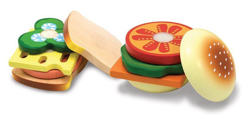 Image of   Sandwich sæt fra Melissa & Doug