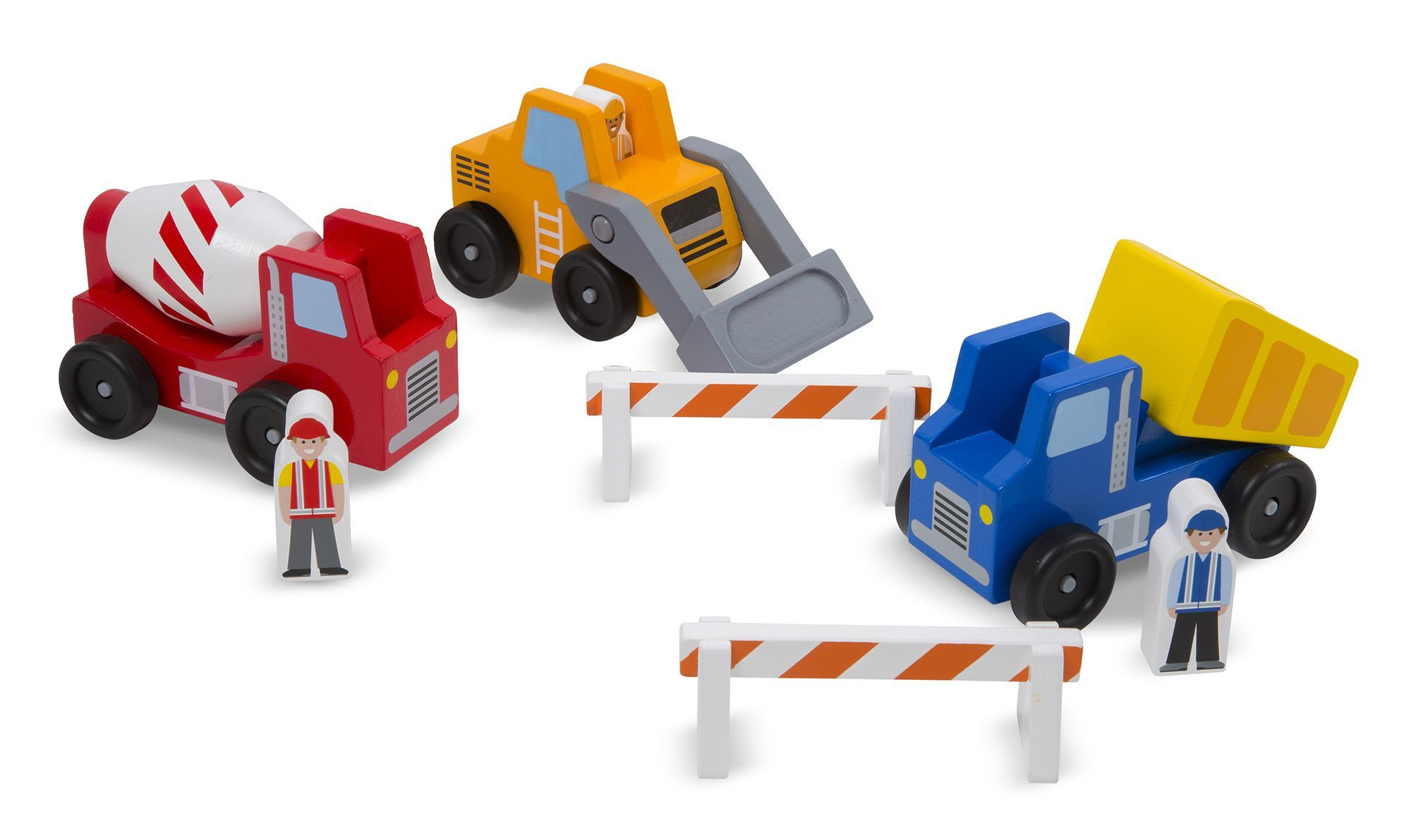 Image of Construction Vehicle Set fra Melissa & Doug (10656)