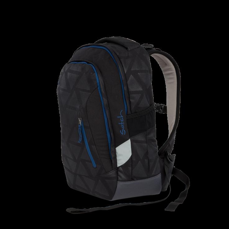 Skoletaske rygsæk - satch sleek - black triad (24l) fra Satch fra babygear.dk