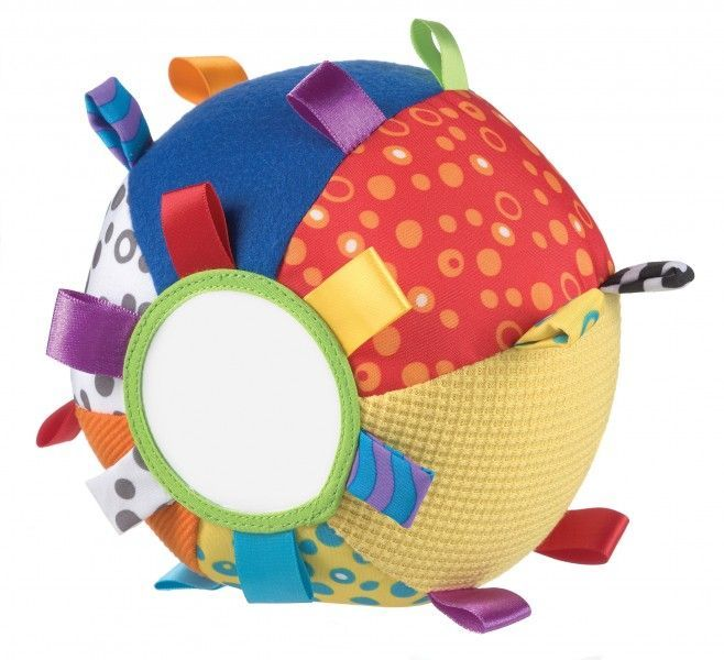 Image of   Babybold m. spejl fra Playgro - Loopy Loops Ball