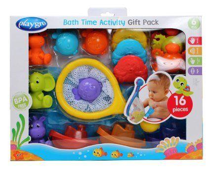 Image of   Badelegetøj fra Playgro - Bath Time Activity Pack