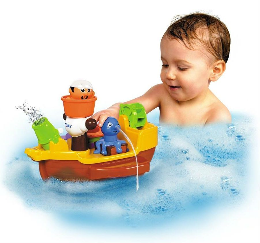 Image of Badelegetøj fra Tomy - Pirate Bath Ship (TMY-TOY25)