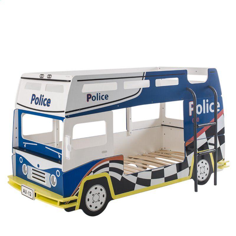 Demeyere Køjeseng politibil fra demeyere (200x90) fra babygear.dk