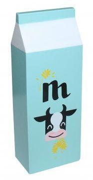 Image of   Mælkekarton i træ fra Magni - Mint