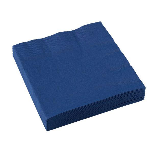 Image of Servietter - Flag Blue (20 stk) (51015-74)