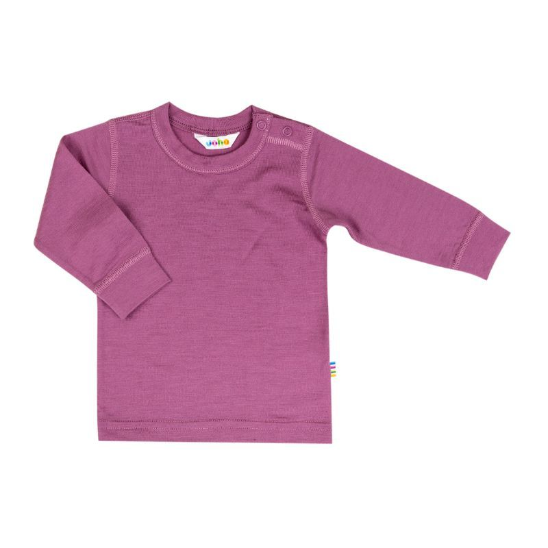 Image of   Uld trøje fra Joha - Extra Fine Merino - Grape