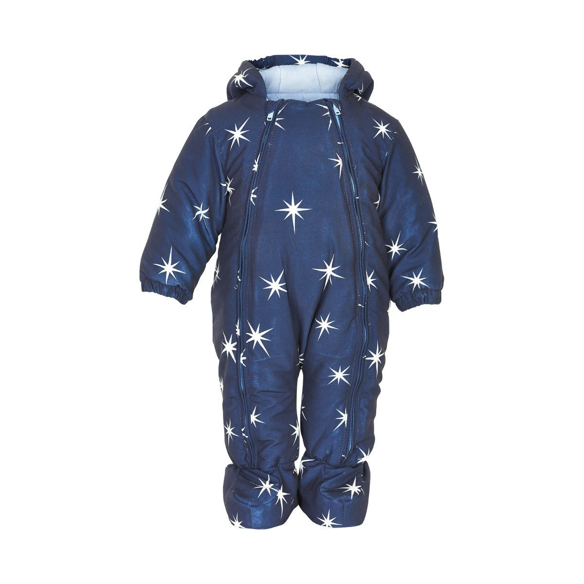 Image of   Baby flyverdragt fra Minymo - Navy and Stars