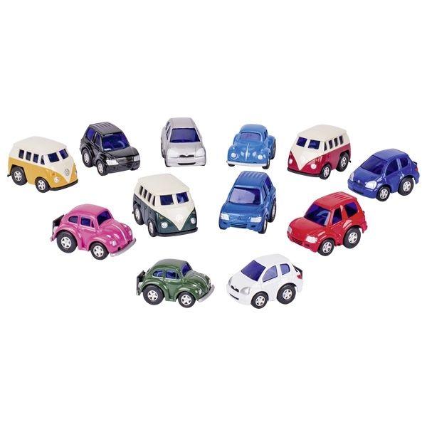 Image of   10 små legetøjsbiler
