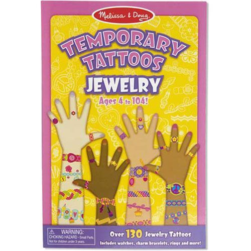 Image of   Temporary Tattoos fra Melissa & Doug - Smykker (4+)