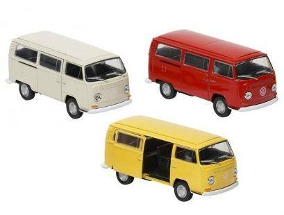 Image of   Legetøjsbus fra Goki - Volkswagen Bus T2 (1972) (1:34-39)