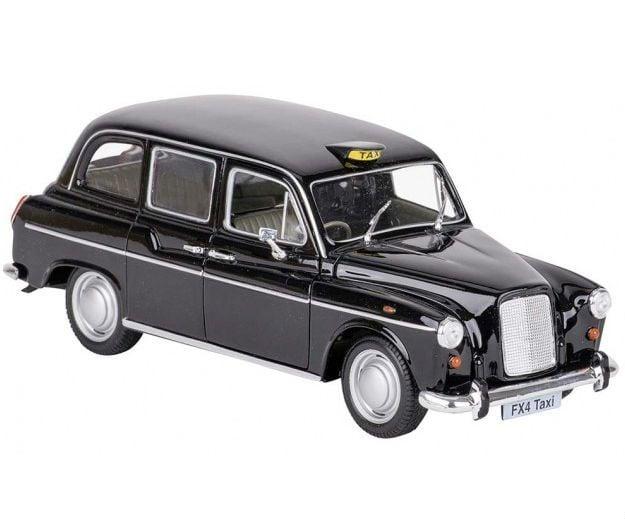 Image of Legetøjsbil fra Goki - Austin FX London Taxi (1:24) (12230)