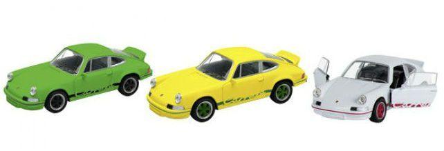 Image of   Legetøjsbil fra Goki - Porsche Carrera RS 1973 (1:34-39)