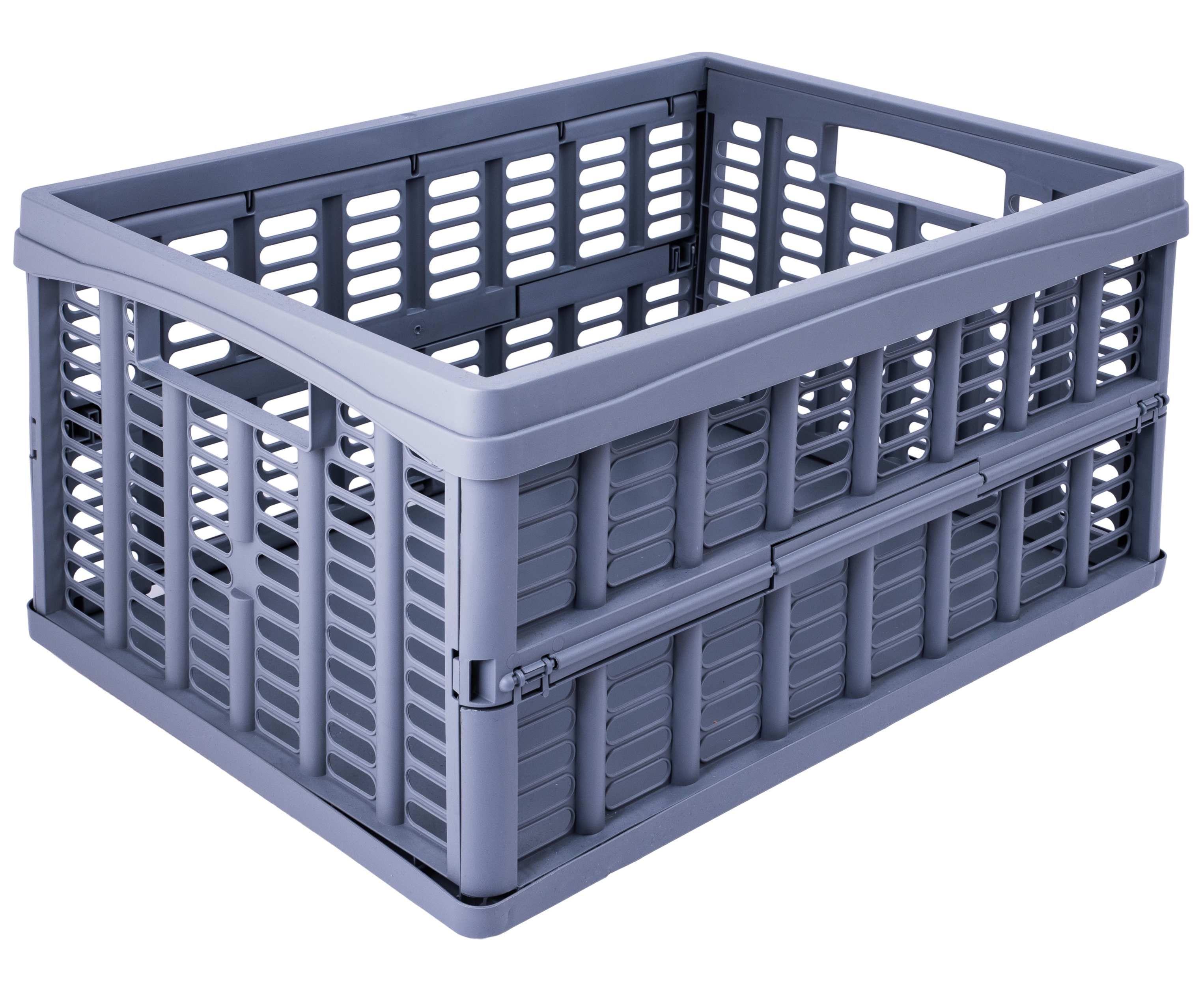 Image of Folde-kasse fra Plastteam - Stor - Grå (12450803)