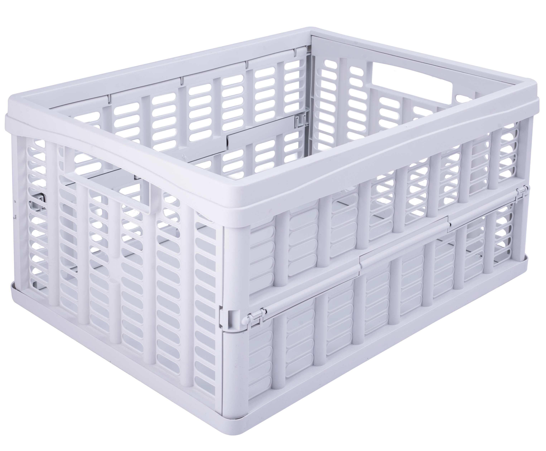 Image of Folde-kasse fra Plastteam - Stor - Hvid (12450801)