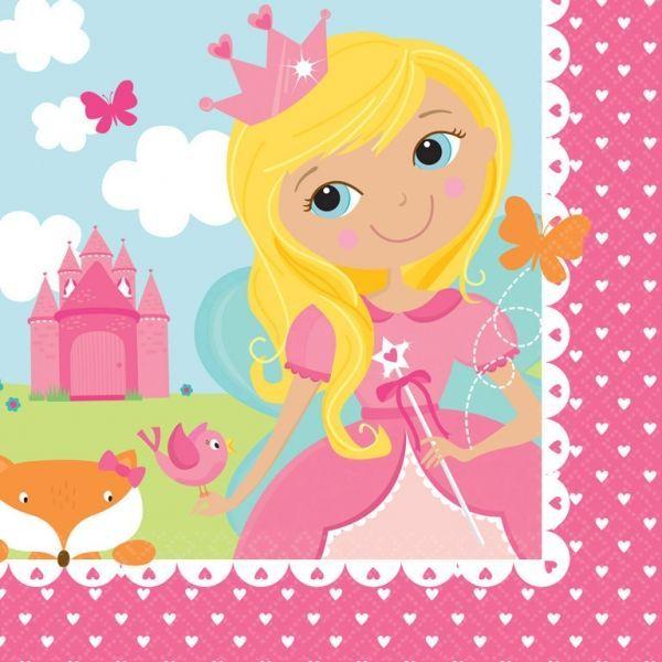 Image of Servietter - Woodland Princess (16 stk) (511623)