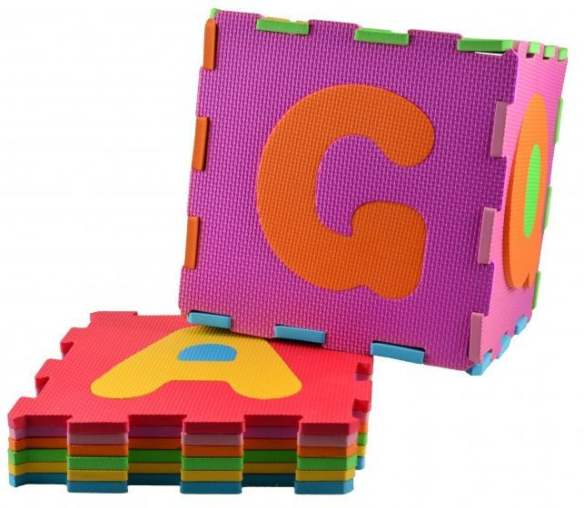 Skumgulv fra Magni - Gulv puslespil - Alfabetet (31 brikker)