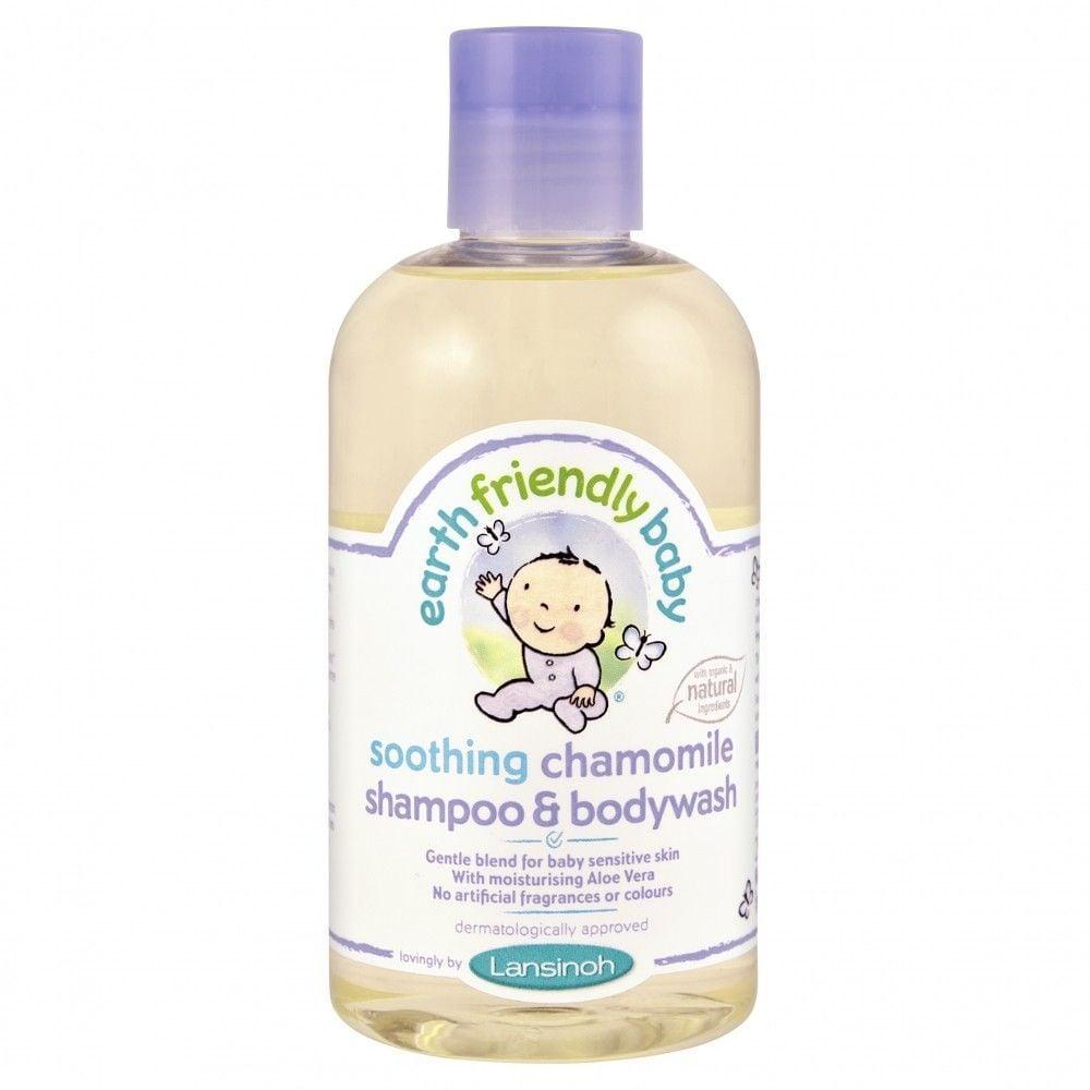 Lansinoh – Shampoo og bodywash fra earth friendly baby - kamille fra babygear.dk