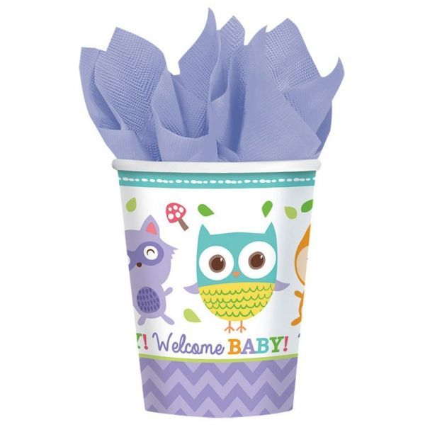 Image of Papkrus - Welcome Baby (8 stk) (581452)
