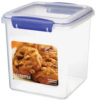 Image of Cookie Tub fra Sistema - Klip-It (2,35L) (1334)