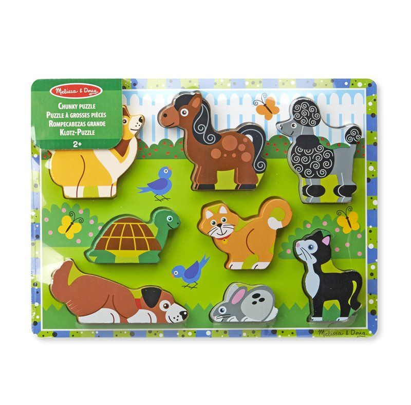 Image of Puslespil fra Melissa & Doug - Pets Chunky Puzzle (13724_1)