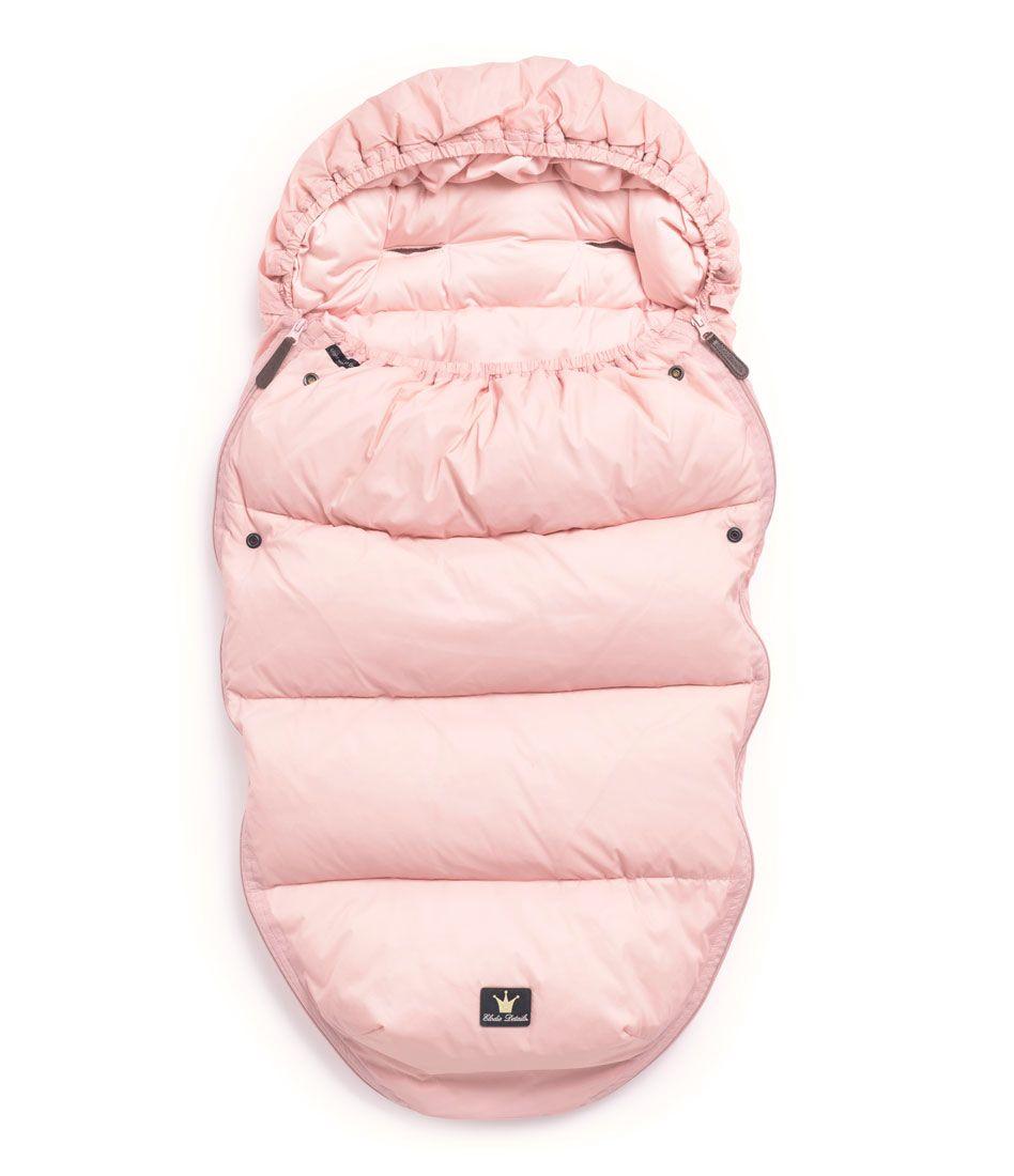 Dun kørepose deluxe fra Elodie Details  -  Letvægt - Powder Pink