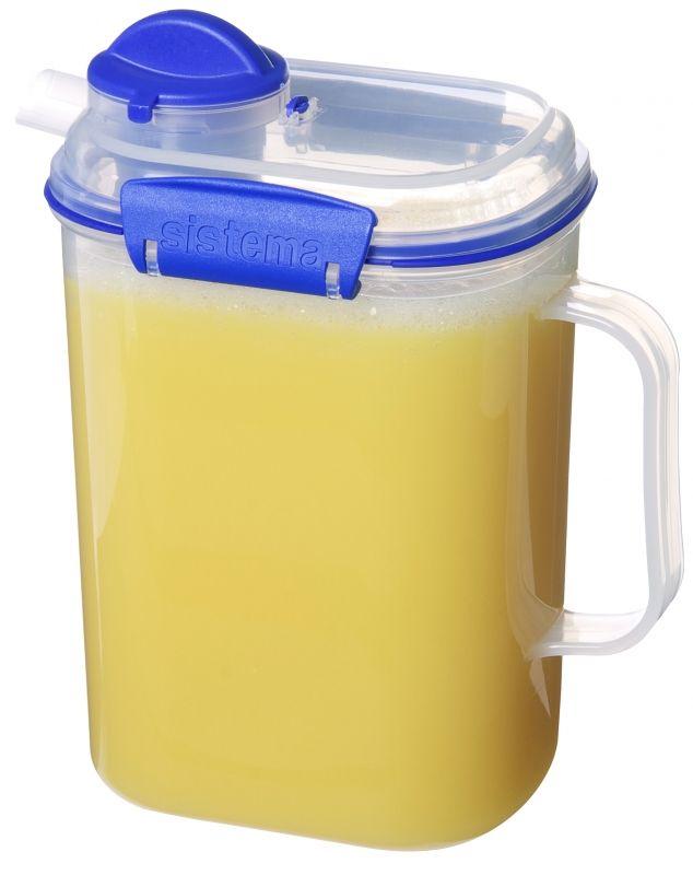 Image of Kande til vand eller juice fra Sistema på 2 liter - Transparent (1420)