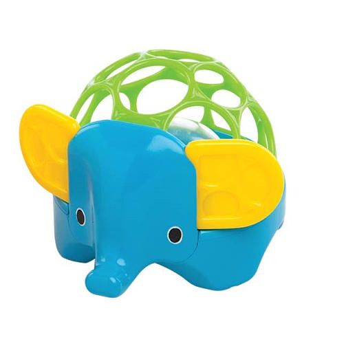 Oball – Oball rangle - rollie rattle - elefant på babygear.dk