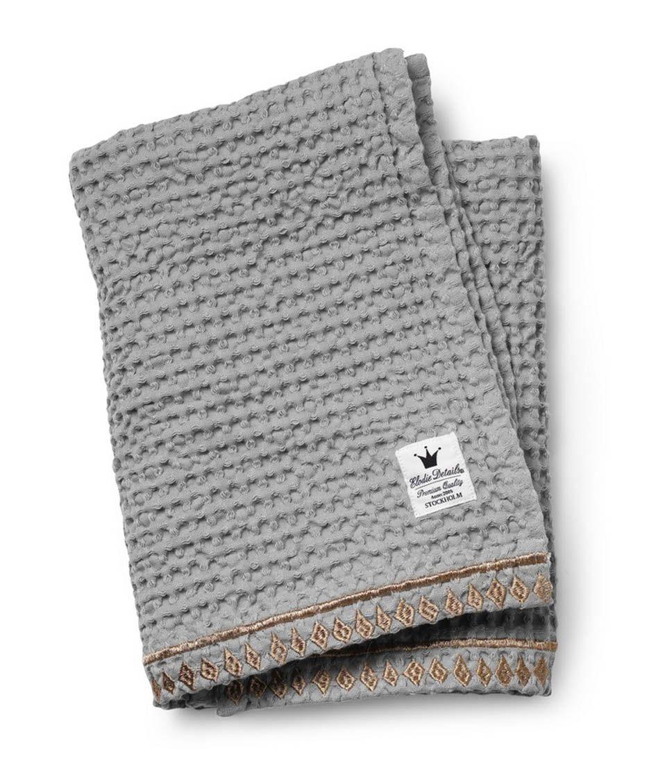Tæppe fra Elodie Details - Gilded Grey (Øko bomuld)