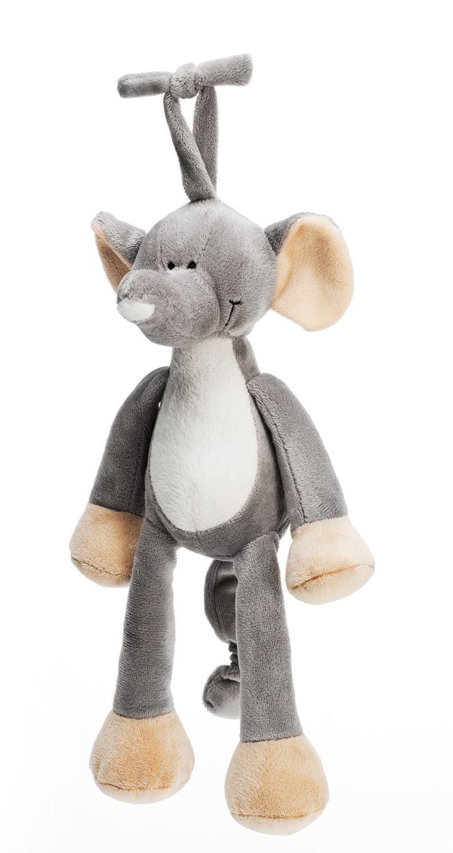 Teddykompaniet Spilledåse fra teddykompaniet - diinglisar - elefant fra babygear.dk