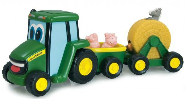 Image of Traktor m. påhæng fra John Deere - Country Fair Wagon Ride (15-35089)