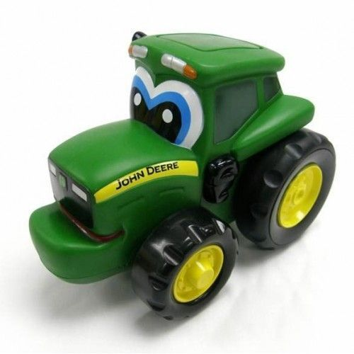 Image of Legetøjsbil fra John Deere - Push & Roll Johnny Tractor (15-42925)