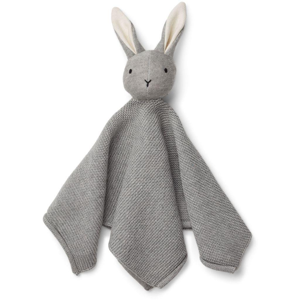 Strikket nusseklud fra Liewood - Milo Rabbit Grey