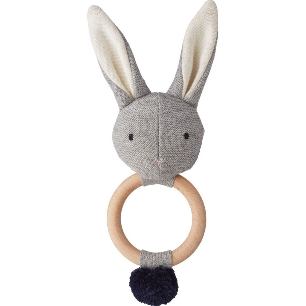 Rangle fra Liewood - Aria - Knitted Rabbit Grey