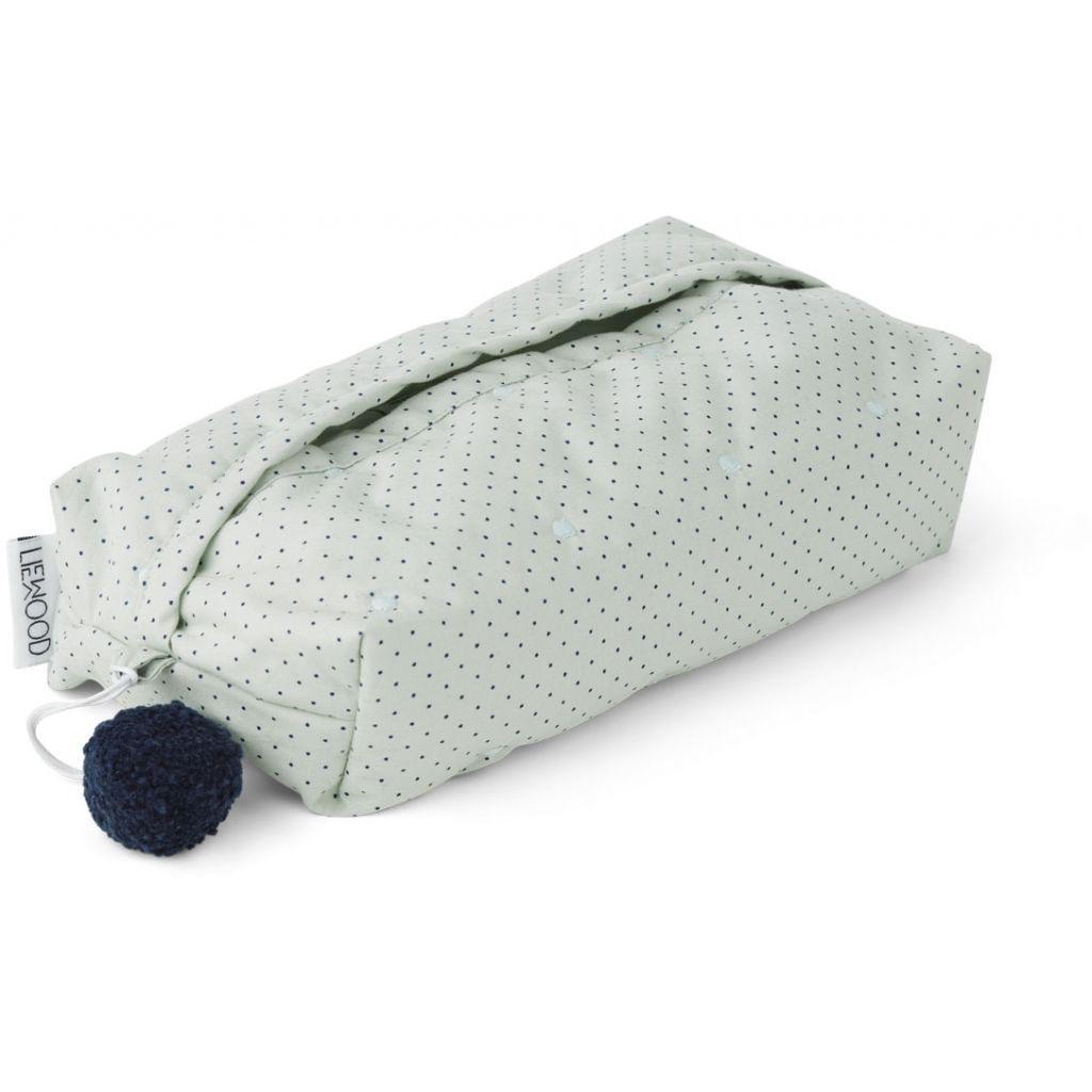 Pung til hygiejneartikler fra Liewood - Elvira - Little Dot Mint