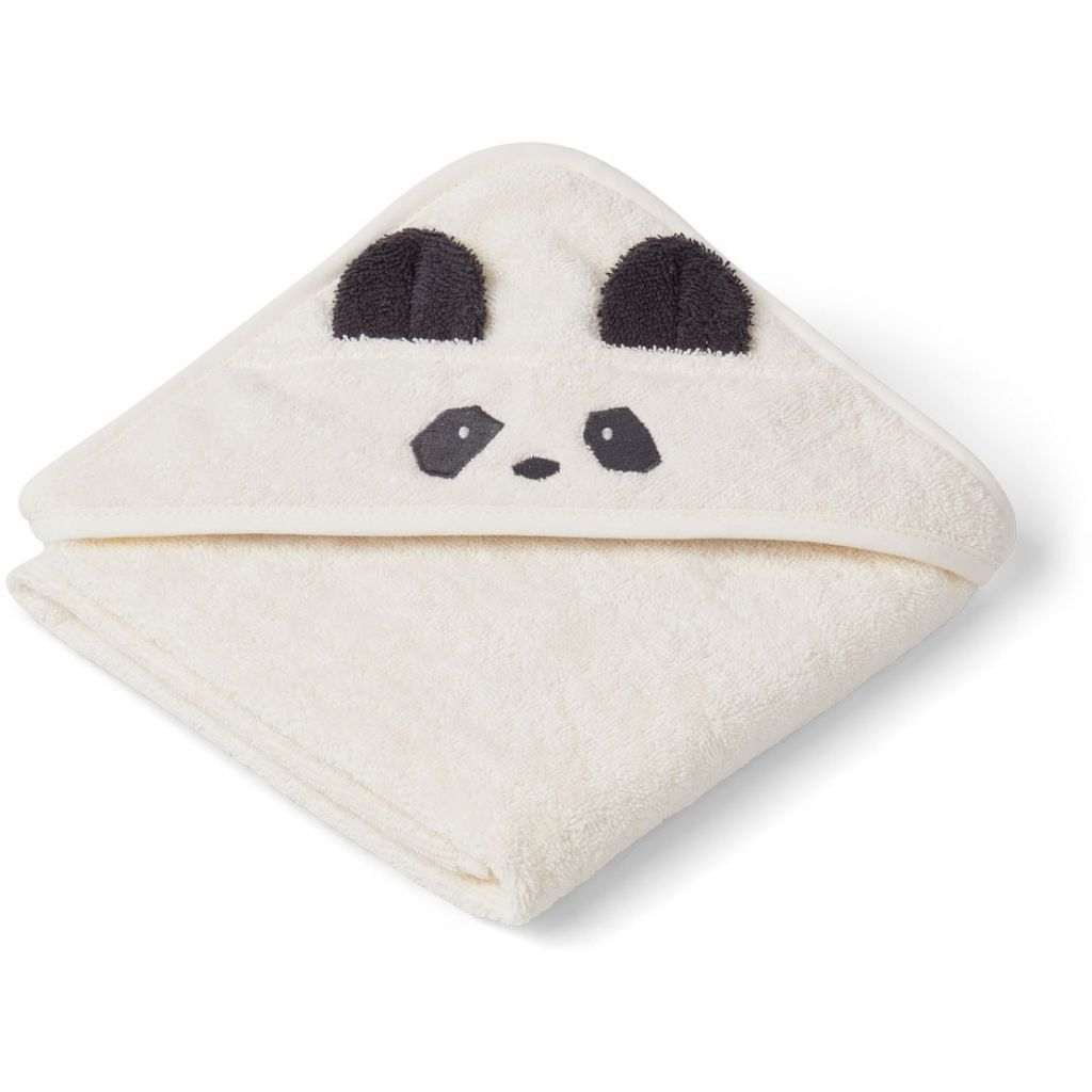 Billede af Badeslag fra Liewood - Albert - Panda Cream (70x70)