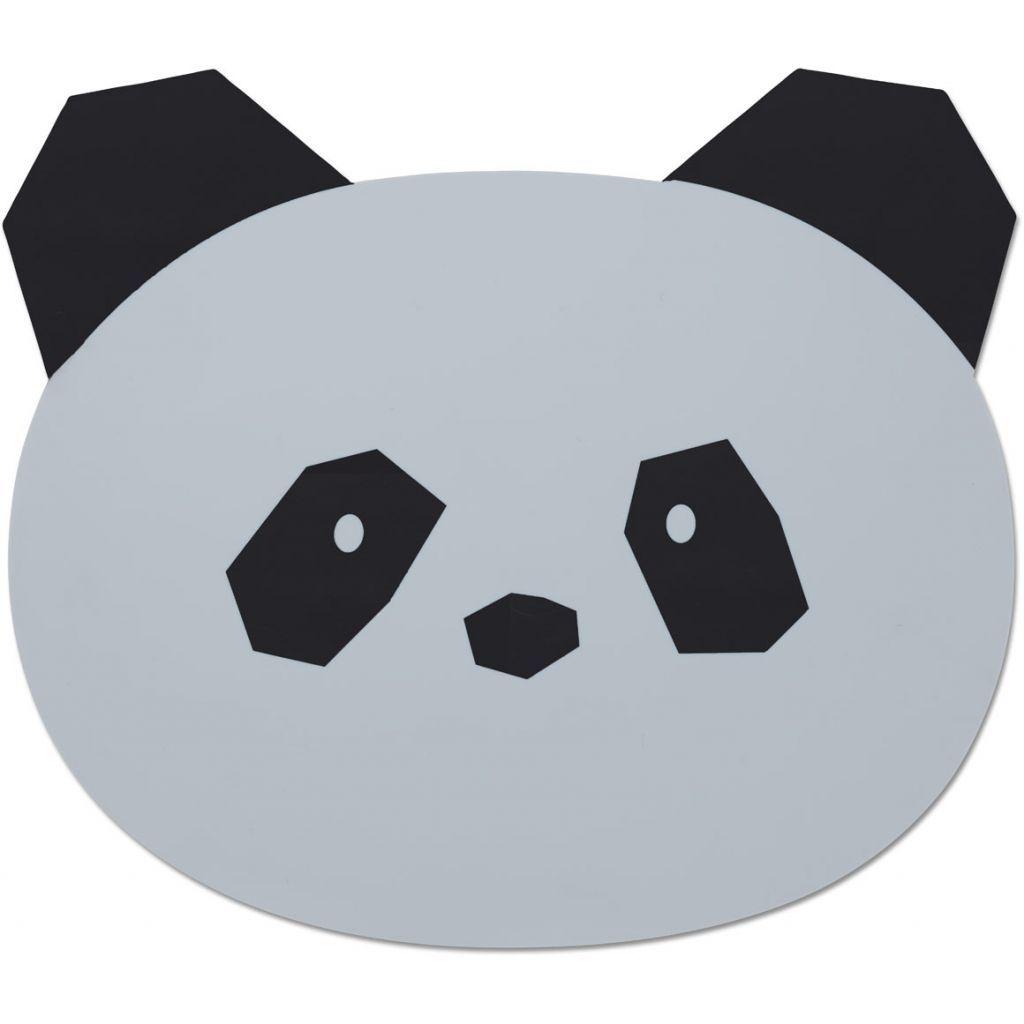 Image of Dækkeserviet fra Liewood - Panda Grey (LW12565-0012)