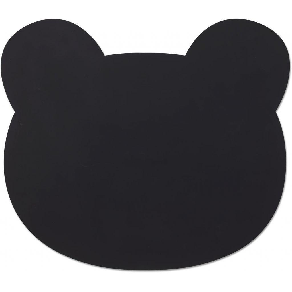 Image of Dækkeserviet fra Liewood - Mr. Bear Black (LW12565-0065)