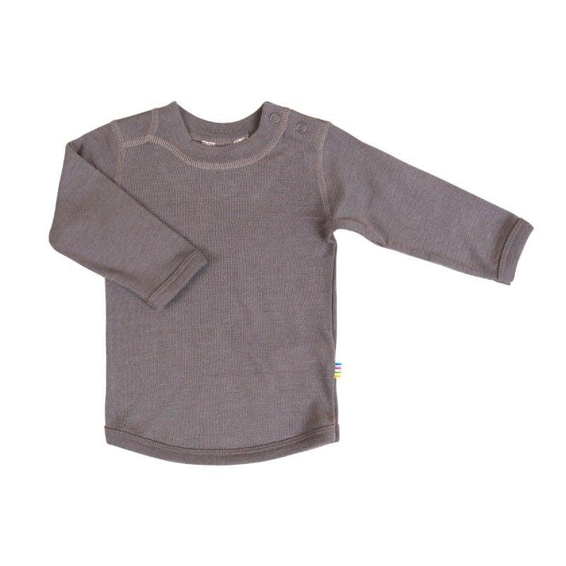 Image of   Uld trøje fra Joha - Iron Brown