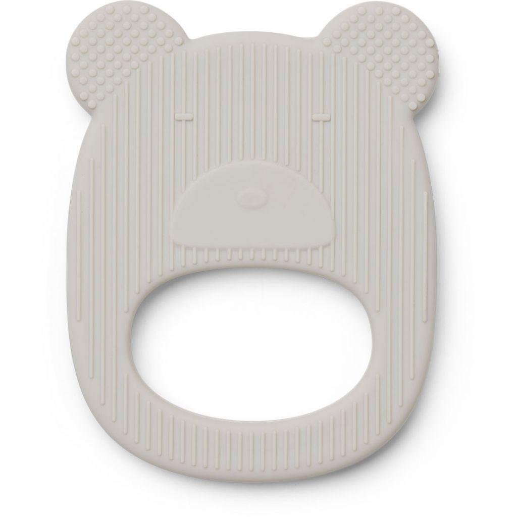 Image of Bidering fra Liewood - Gemma - Bear Dumbo grey (LW12592-0069)