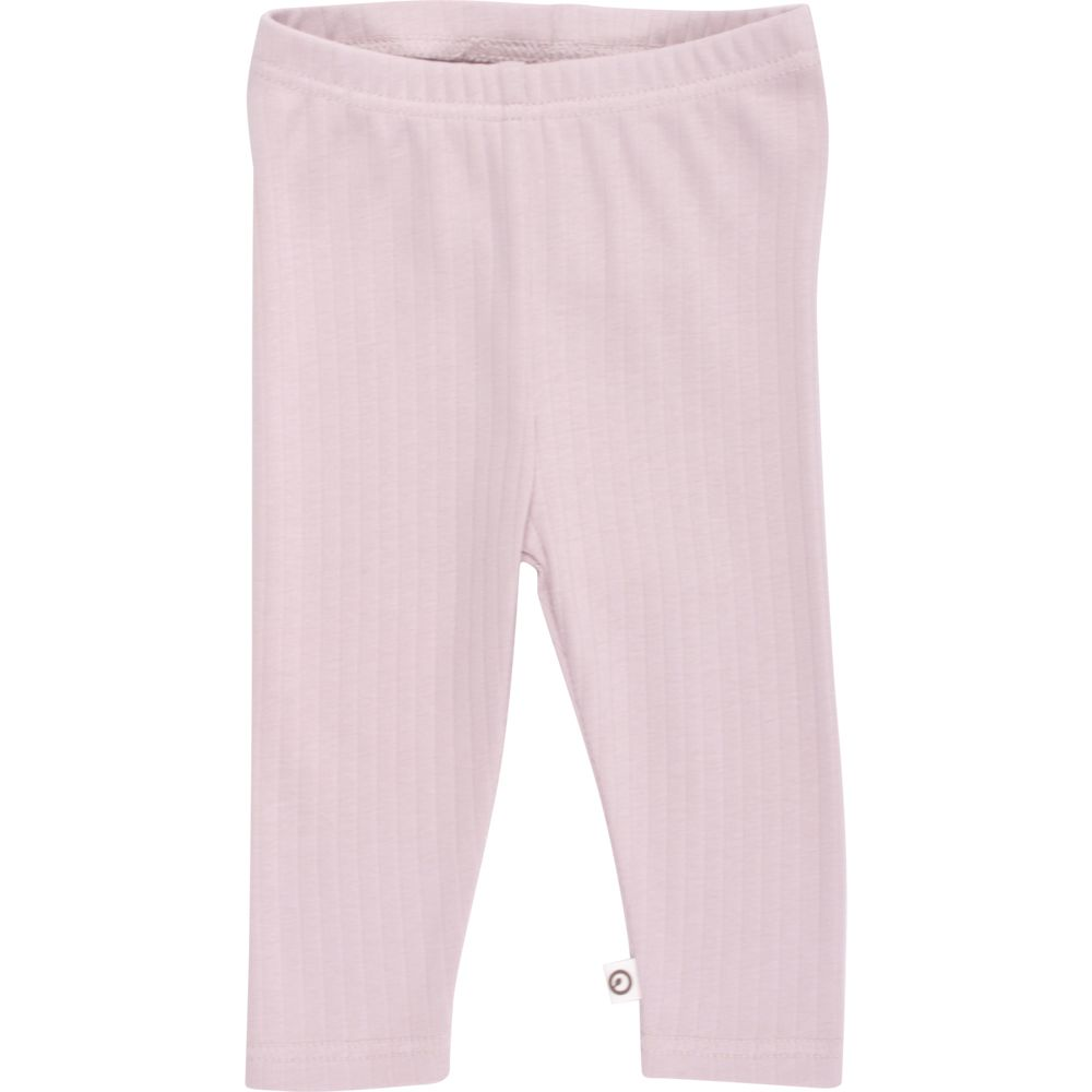Image of   Cozy Rib leggings fra Müsli - Dusty Rose (GOTS)