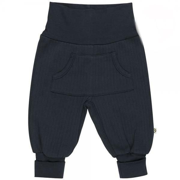 Billede af Cozy Rib pocket pants fra Müsli - Navy (GOTS)