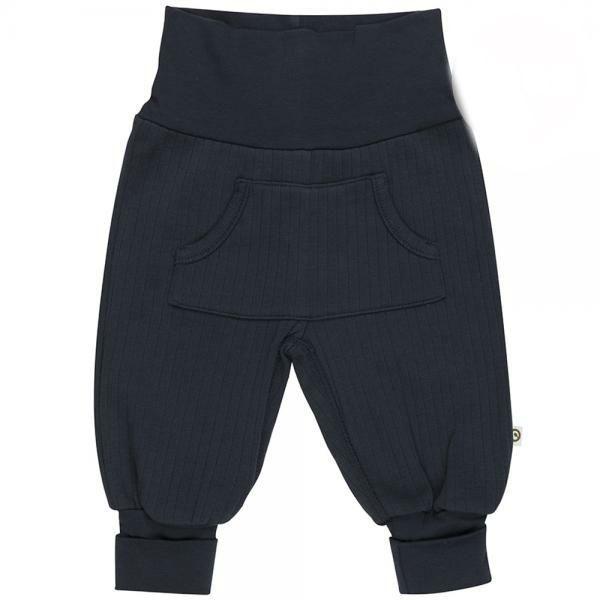 Image of Cozy Rib pocket pants fra Müsli - Navy (GOTS) (1535025100-019392301)